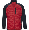 PeakPerformance Helium Hybrid Jacket Dark Chili