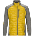 PeakPerformance Helium Hybrid Jacket Yellow Flow