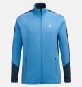 PeakPerformance Rider Zip Jacket Blue Elevation
