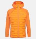 PeakPerformance Argon Hybrid Hood Jacket Orange Altitude
