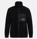 PeakPerformance Original Pile Zip Jacket Black
