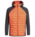 PeakPerformance Argon Hybrid Hood Jacket Zeal Orange