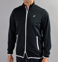 Tranvi TRJKB-01 Full Zip Stretch Wind Jacket Black