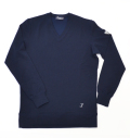 Tranvi TRCTB-08 V-Neck Tech Pullover Navy