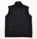 BRIEFING 3D LOGO VEST BLACK