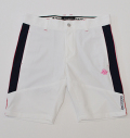 SubSeventy AS20062 Piping Slim Short Pants White
