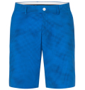 KJUS MEN INACTION PRINTED SHORTS AQUA BLUE