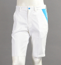 SQAIRZ SQPTB-07  Stretch Tech Shorts White