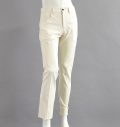 Tranvi TRPTB-04 L-Pocket Stretch Pants White/Navy