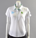 2018 Fairy Powder FP18-2108 Argyle Mesh Polo White