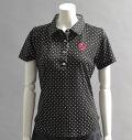 2018 Fairy Powder FP18-2109 Dots Print Polo Black