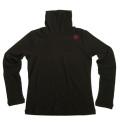 Fairy Powder FP19-6102 Women's Turtle-Neck Shirts Black