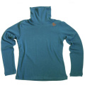 Fairy Powder FP19-6102 Women's Turtle-Neck Shirts Blue