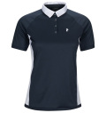 2020 PeakPerformance Women's Slate Block Polo Blue Shadow