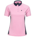 2020 PeakPerformance Women's Slate Block Polo Morning Dew
