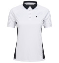 2020 PeakPerformance Women's Slate Block Polo White
