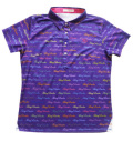 Fairy Powder FP20-2107 Women's FP Logo Print Polo Purple