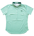 Fairy Powder FP20-2118 Women's Pique Print Polo Green
