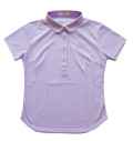 Fairy Powder FP20-2118 Women's Pique Print Polo Purple