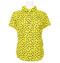 Fairy Powder FP21-2114 Women's FP Logo Print Polo Yellow