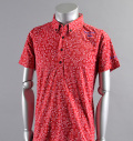 2017 ILicca Golf IG17-1101 Print BD Polo Red