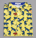 ILicca Golf IG19-1102 Panther Print Polo Yellow