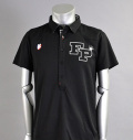 Fairy Powder FP16-1105  Western Mesh Polo Black