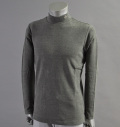 Fairy Powder FP17-5101 Stretch Hi Neck Pull Over Gray