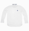 2018 Fairy Powder FP18-1100 Long Sleeve Pique Polo White