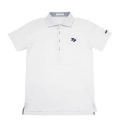 2018 Fairy Powder FP18-1104 Short Sleeve Pique Polo White