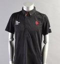 2018 Fairy Powder FP18-1110 Argyle Mesh Western Polo Black