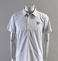 2018 Fairy Powder FP18-1111 Dots Print Polo White