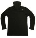 Fairy Powder FP19-5102 Turtle-Neck Shirts Black