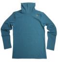 Fairy Powder FP19-5102 Turtle-Neck Shirts Blue