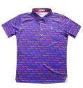 Fairy Powder FP20-1107 FP Logo Print Polo Purple