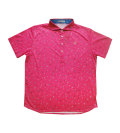 Fairy Powder FP20-1109 Paper Airplane Print Polo Pink