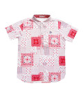Fairy Powder FP20-1111 Bandana Print Polo White/Red