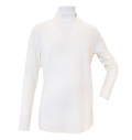 Fairy Powder FP20-5101A Diamond Pattern Hi-Neck Shirts White