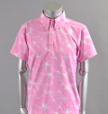 2017 SubSeventy AS10092 Wave Star Polo Pink