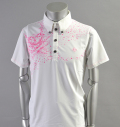 2017 SubSeventy AS10094 Skull Polo Pink