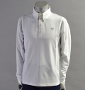 2017 SubSeventy AS10099 Houndstooth Line L/S Polo White