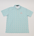 SubSeventy AS10121 Sub Leaf Polo Blue/Pink