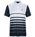 2020 PeakPerformance Bandon Print Polo White