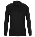 2020 PeakPerformance Player Polo Long Sleeve Black