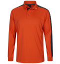 2020 PeakPerformance Player Polo Long Sleeve Aglow