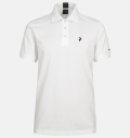 PeakPerformance Tech Solid Polo White
