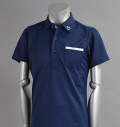 SQAIRZ SQSHB-09 Pocket Shirts Navy