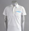 SQAIRZ SQSHB-09 Pocket Shirts White