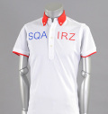 SQAIRZ SQSHB-012  Cleric Shirts White/Red