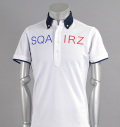 SQAIRZ SQSHB-012  Cleric Shirts White/Navy